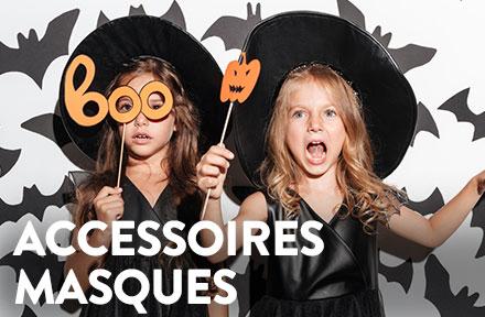 Masques et accessoires halloween