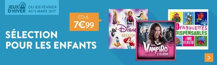 CD jeunesse 7.99€