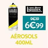 Aérosols liquitex à - 22% soit 6.99€ l'aérosols
