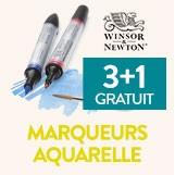 3+1 gratuit sur les marqueurs aquarelle