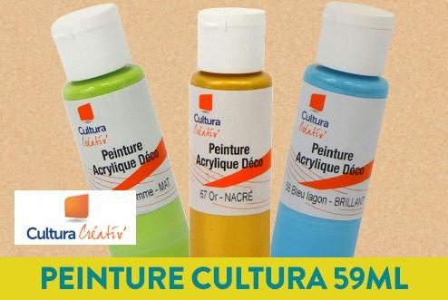 Peinture Cultura - 3 achetés = la 4e offerte