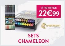 découvrez les sets chameleon à partir de 22.99€
