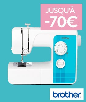 Machines Brother jusqu'à -70€