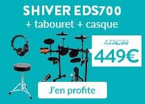 Promo batterie électronique Shiver