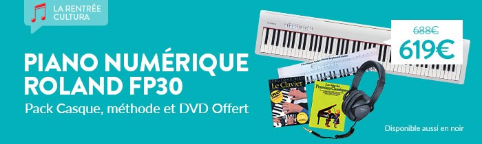 Promo pack Piano Rolan FP30