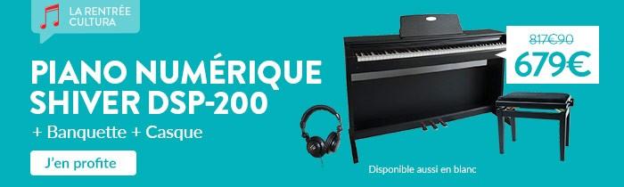 Promo piano numérique Shiver
