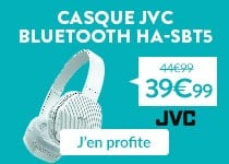 Promo casque Bluetooth JVC