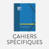 Cahier scolaire spécifique