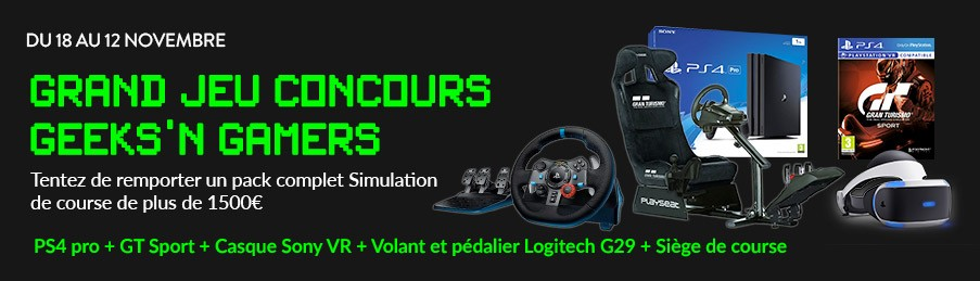 Jeu Concours Geek's n Gamers