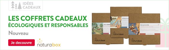 Nouveautés, Naturabox le coffret cadeau écologique et responsable