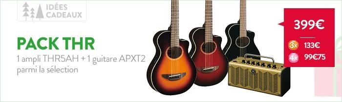 Promo guitare Yamaha APXT + ampli THR5A