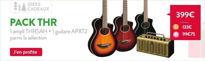 Promo Guitare yamaha APTX2 et ampli THR5A