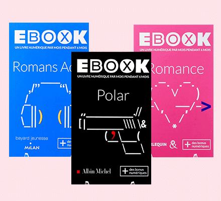 idée cadeau Ebook box