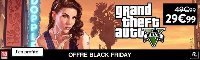 GTA V à 29.99€ Black Friday