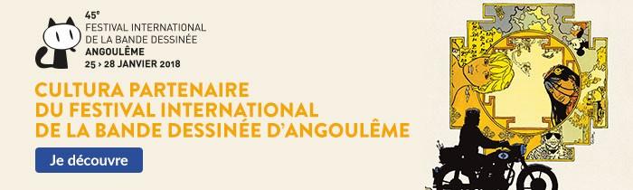 Cultura Partenaire du 45ème Festival International de la Bande Dessinée d'Angoulême
