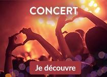 Billetterie Concert