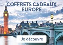 Coffrets cadeaux Europe