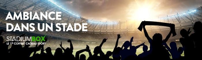 Stadiumbox le premier coffret cadeau 100% sport