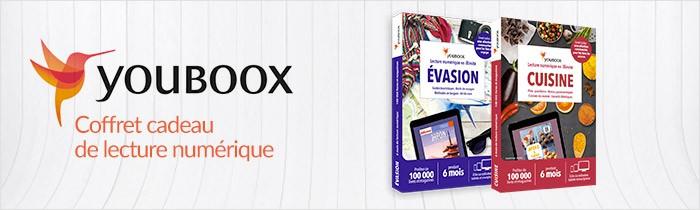 Youboox le coffret cadeau lecture numérique
