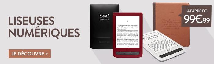 Liseuses Numériques Touch Lux 3 à Partir de 99,99€