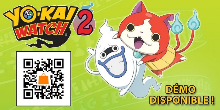 Yo-Kai Watch 2 Démo Disponible