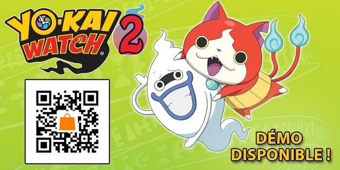 Yo-Kai Watch 2 Démo Disponible