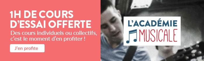 Académie Musicale Cultura : 1h de cours d'essai offerte