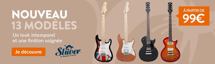 Guitares électriques Shiver