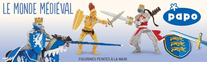 Jouetsamp; Activités Monde Figurines Médiéval Créatives Papo Le Tlc1JFK