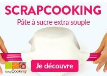 rentrée créative : nouveautés cuisine créative scrapcooking pâte à sucre