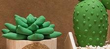 Pâte à modeler, argile, plâtre