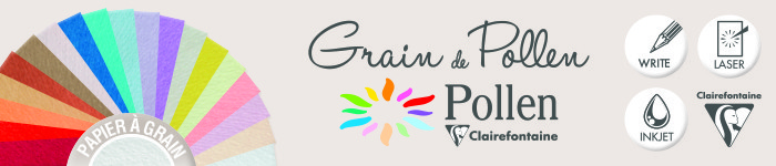 Grain de Pollen - Pollen - Clairefontaine