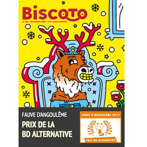 Biscoto, le journal plus fort que costaud