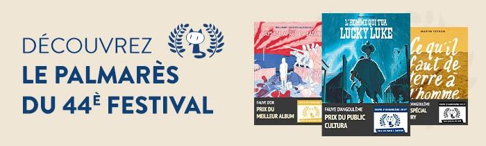 Palmarès 2017 du Festival d'Angoulême