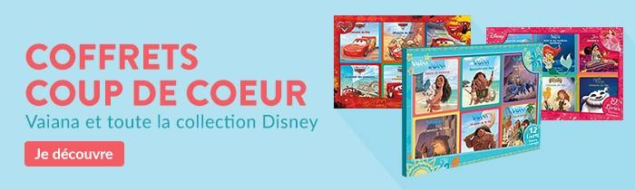 Coffret 12 histoires et coloriage Disney