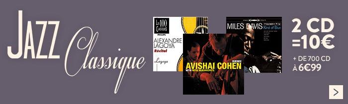 Jazz - Classique 2CD = 10€