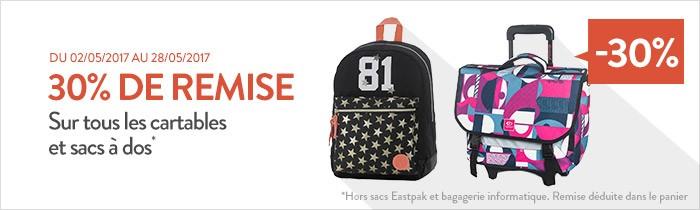 Cartable scolaire et sac scolaire