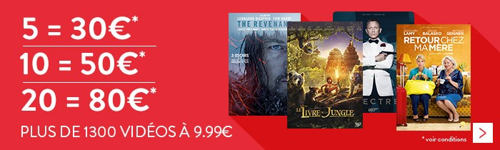5=30€ / 10=50€ / 20=80€