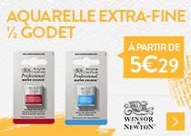 aquarelle demi godet winsor&Newton à partir de 5.29€