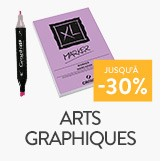Arts graphiques jusqu'à - 30%