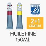 2 tubes d'huile fine 150ml lefranc&bourgeois, le 3ème offert