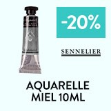aquarelle miel 10 ml