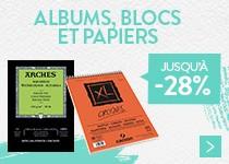 Albums, blocs