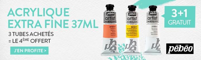 acrylique extra fine pebeo 37 ml
