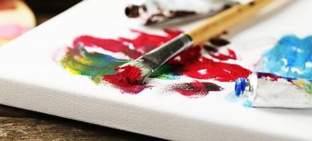 Peindre à l'acrylique