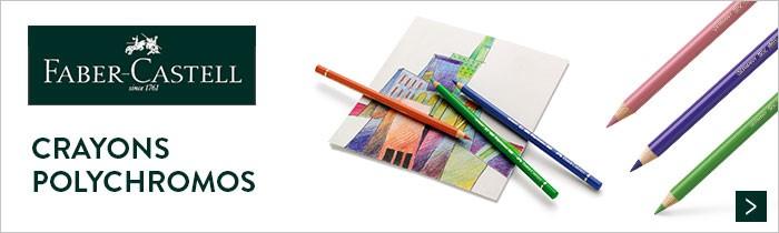 Crayons polychromos à 1.79€