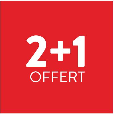 2+1 offert