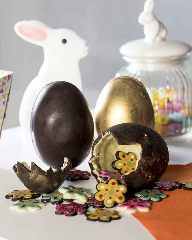 Oeufs surprises en chocolat