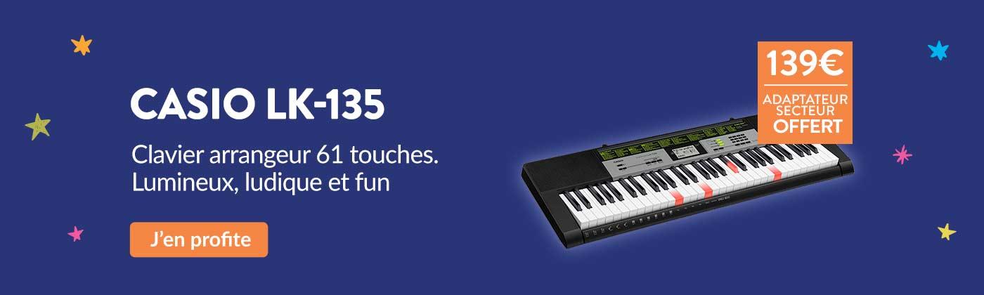Promo clavier Casio LK-135