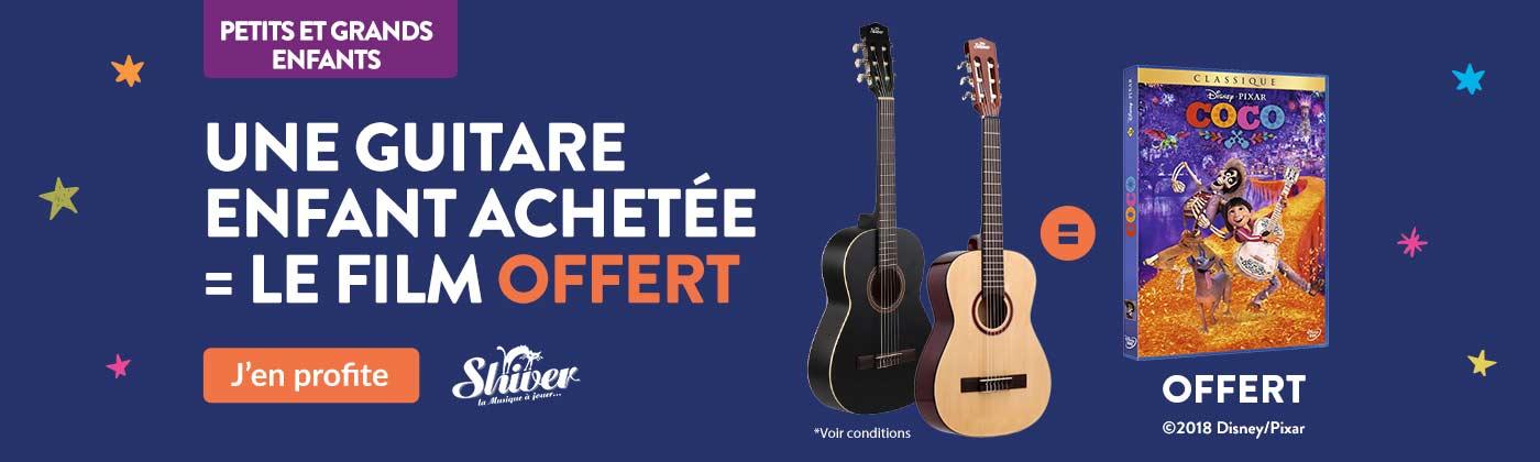 Une guitare + Coco offert